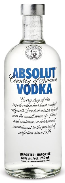 ABSOLUT VODKA SWEDEN 40 % 0.7 L