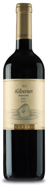 ALIBERNET 2011 ELESKO vinárstvo Výber z Hrozna Barrique