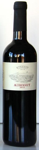 ALIBERNET 2013 vinárstvo Strekov 1075 Zsolt Sütó červené suché
