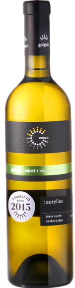 AURELIUS Golguz Neskorý Zber suché víno biele