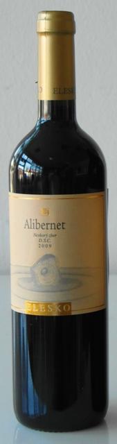 ALIBERNET 2009 Elesko vinárstvo Neskorý Zber Barrique