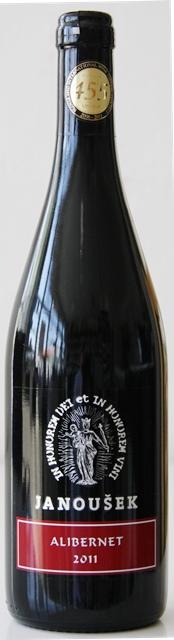 Alibernet 2011 Janoušek vinárstvo Výber z Hrozna
