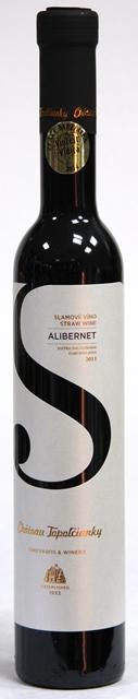 Alibernet 2013 Chateau Topoľčianky Slamové víno DSC Straw Wine