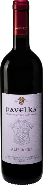 Alibernet - Pavelka víno Výber z Hrozna D.S.C.