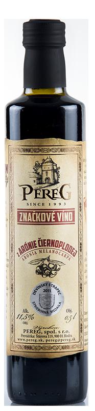 Arónia - Víno z Arónie čiernoplodej Vinárstvo Pereg