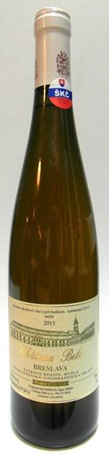 BRESLAVA Chateau Belá vinárstvo DSC suché víno biele