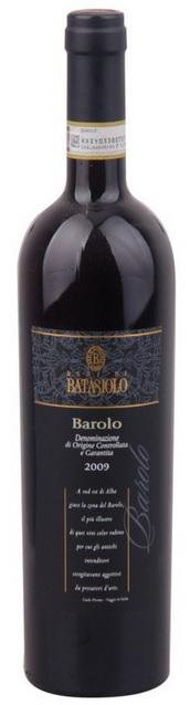 Barolo Batasiolo 2009 Piemont Taliansko