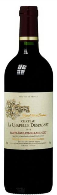 Bordeaux Chateau La Chapelle Despagnet Sain Emilion