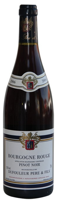 Bourgogne Pinot Noir AOC Dufouleur Perte & Fils