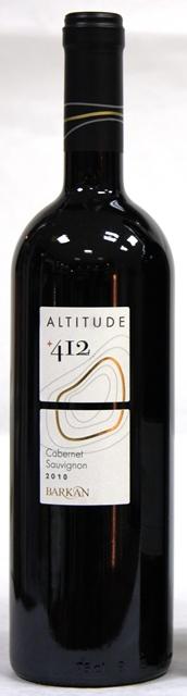 CABERNET SAUVIGNON BARKAN + 412 Altitude Israel Kosher wine