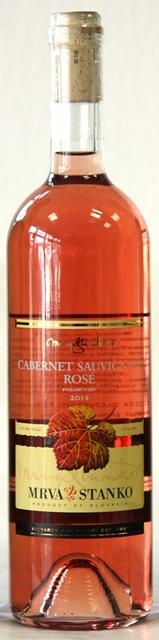 CABERNET SAUVIGNON MRVA & STANKO 2014 polosuché víno rosé