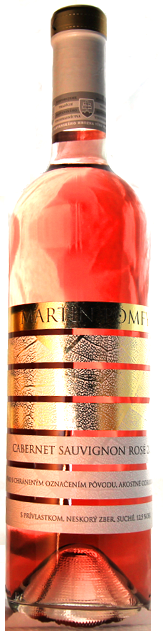 CABERNET SAUVIGNON Rosé 2015 Mavín Martin Pomfy neskorý zber