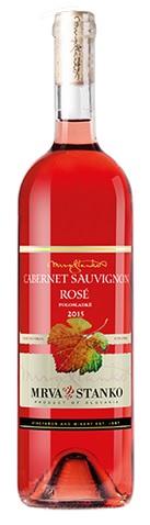 CABERNET SAUVIGNON Rosé 2015 Mrva & Stanko polosladké víno AV
