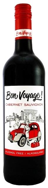CABERNET SAUVIGNON Bon Voyage dealkoholizované - nealkoholické v