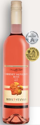 CABERNET SAUVIGNON 2019 Rosé Mrva & Stanko suché víno