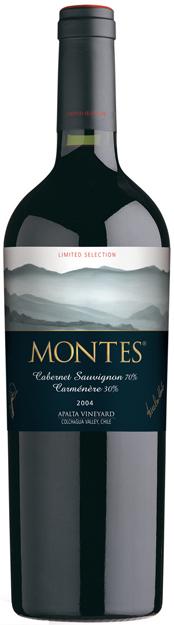 Cabernet Carménére 2011 MONTES VINO Limited Selection