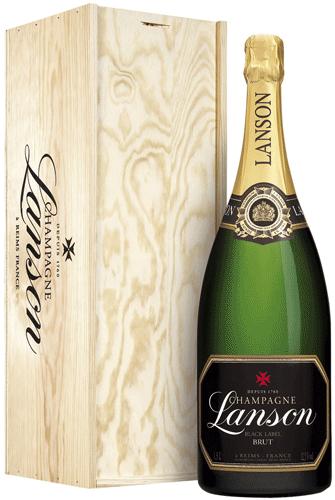 "CHAMPAGNE ""Šampanské Lanson BLACK LABEL JEROBOAM 3 L."