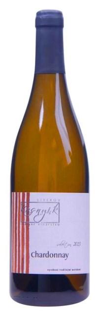CHARDONNAY 2013 KASNYIK Selection Strekov suché víno biele