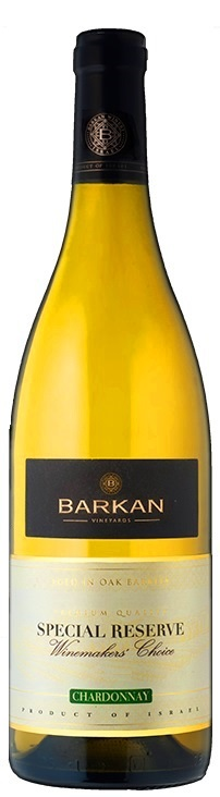 CHARDONNAY BARKAN WINES  2013 Special Reserve Kosher