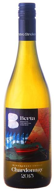 CHARDONNAY Winemakers choice vinárstvo Berta Strekov