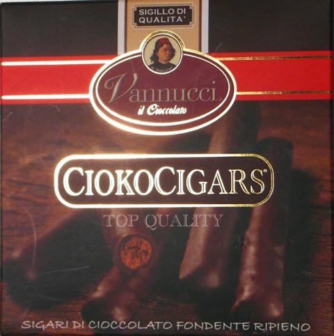 CIOKOCIGARS Čokoládové cigary Vannucci čokoláda Taliansko 65g