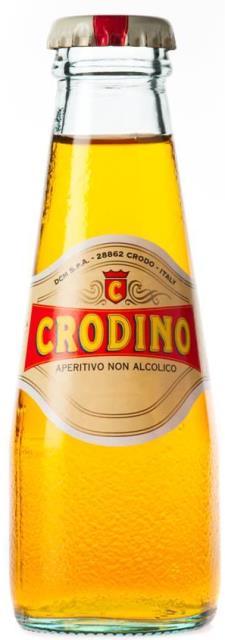 CRODINO nealkoholický perlivý nápoj aperitív 100ml Taliansko