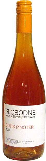 CUTIS PINOTER Slobodné vinárstvo 2015 nefiltrované oranžové víno
