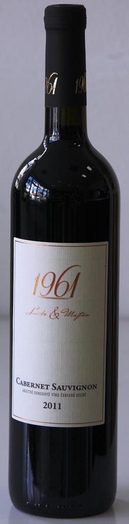 Cabernet Sauvignon 2011 Lacko a Majtán 1961