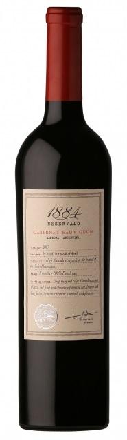 Cabernet Sauvignon 1884 Escorihuela Gascon Mendoza Argentina vin