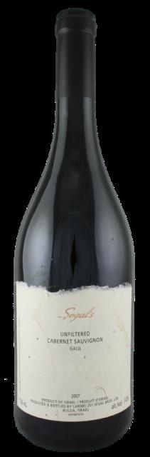CABERNET SAUVIGNON 2008 unfiltered Barkan Segals wines Israel