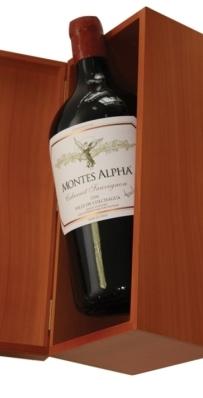 Cabernet Sauvignon Montes Alpha vino Chile Reserva 3l