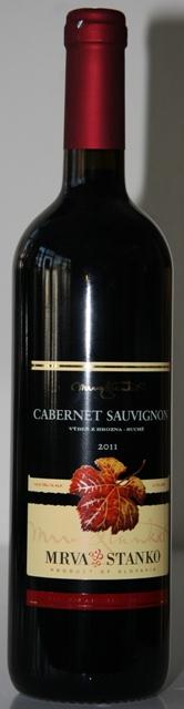 Cabernet Sauvignon Mrva Stanko 2011 Výber z Hrozna Strekov
