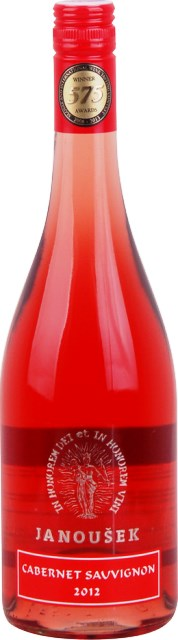 Cabernet Sauvignon Rosé Ružové 2012 Janoušek Neskorý Zber