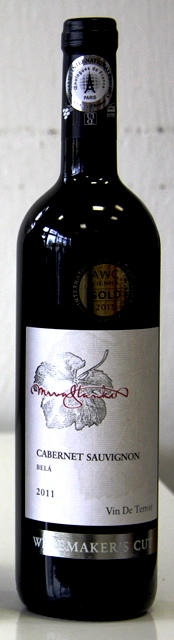 Cabernet Sauvignon Belá 2011 Mrva & Stanko vinárstvo barrique