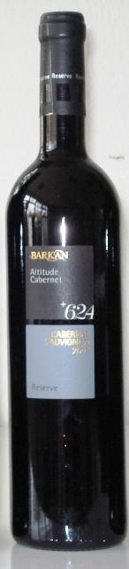 Cabernet Sauvignon Barkan 624 Altitude
