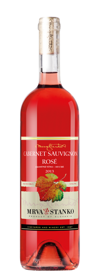 Cabernet Sauvignon Rosé 2013 Mrva & Stanko suché víno Vinodol