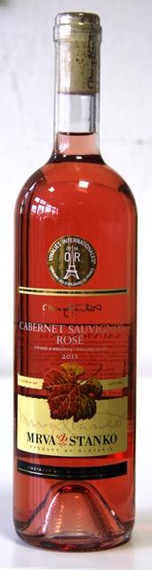Cabernet Sauvignon Rosé 2013 Mrva & Stanko Výber z Hrozna polosl