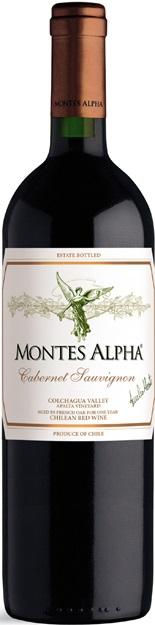 CABERNET SAUVIGNON Montes Alpha Vino Čile - Chile