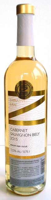 Cabernet Sauvignon biely vinárstvo Zápražný NZ suché víno