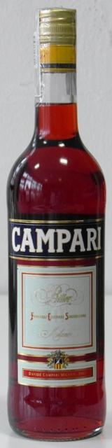 Campari Bitter 0,7 l horký likér z rastlín