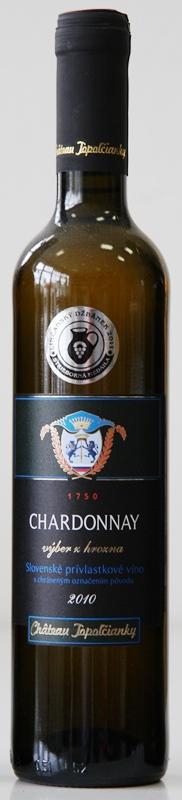 Chardonnay 2010 Chateau Topolčianky výber z hrozna
