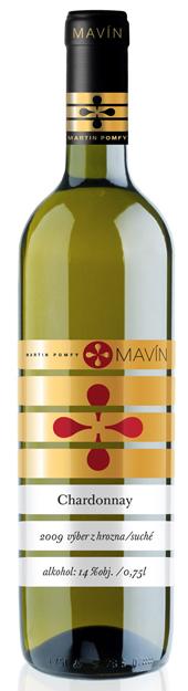 Chardonnay 2012 Mavín víno Výber z hrozna