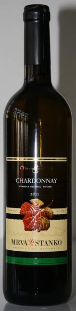 Chardonnay 2012 Mrva Stanko Výber z Hrozna Čachtice