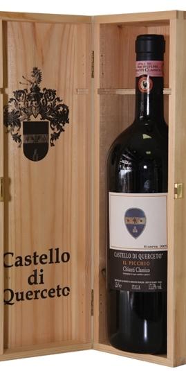 Chianti Classico II Picchio Castello Di Querceto Toscana Box