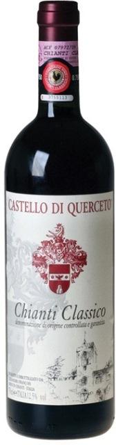 Chianti Classico DOCG Castello Di Querceto obj. 0,75 L Alk. 13 %