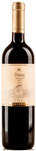 DUNAJ 2012 ELESKO Výber z Hrozna DSC červené víno