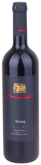 DUNAJ Vinidi vinárstvo výber z hrozna suché víno