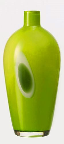 Dekoračná Váza Leonardo zelená 26 cm ručná výroba