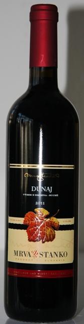 Dunaj Mrva Stanko 2011 výber z hrozna suché víno