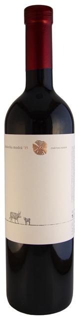 FRANKOVKA MODRÁ 2015 Chateau Rúbaň červené víno suché